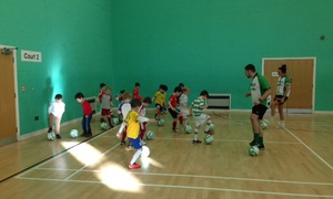 Football Superstars: Children's Football: Three or Five Classes with Football Superstars (Up to 43% Off)