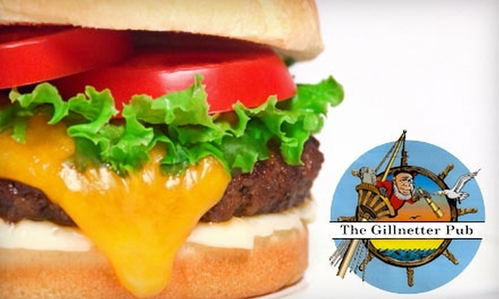 Gillnetter Pub - Port Coquitlam: $20 for $40 Worth of Burgers, Seafood, Drinks, and More at the Gillnetter Pub