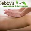 Half Off at Debby's Massage & Wellness