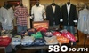 60% Off Men's and Boys' Clothing