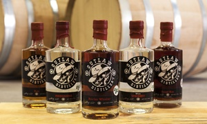 Tour With Shot Glasses And T-shirts For Two, Four, Or Six At Outlaw Distillery (up To 50% Off)
