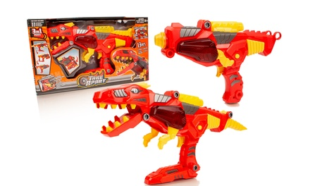 Take Apart 3in1 Electronic Dinobot Blaster