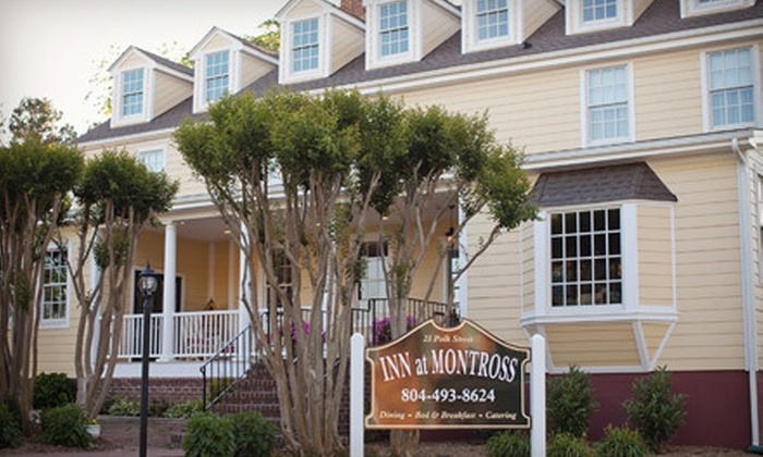 The Inn at Montross - Montross: Two- or One-Night Stay with Breakfast, Gift Basket, and Wine-Tasting Passes at The Inn at Montross (Up to 51% Off)