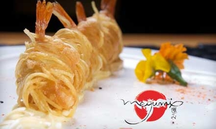 Megumi - Mandeville: $20 for $40 Worth of Sushi, Drinks, and More at Megumi