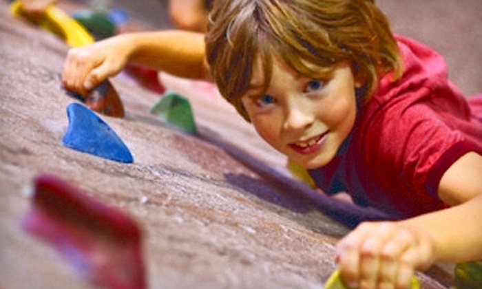 MetroRock - Multiple Locations: Indoor Climbing Packages at MetroRock. Three Options Available.