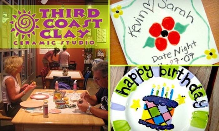 Third Coast Clay Ceramic Studio - Franklin: $15 for $30 Worth of Paint-It-Yourself Pottery at Third Coast Clay Ceramic Studio