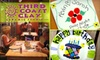 Third Coast Clay Pottery Painting Studio - Franklin: $15 for $30 Worth of Paint-It-Yourself Pottery at Third Coast Clay Ceramic Studio
