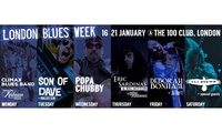 Blues Week: One (1) Ticket to Six Shows, 16–21 January 2017 at 100 Club (Up to 59% Off)