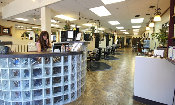 Visible Changes Salon and Day Spa - San Mateo: Haircut, Deep Conditioning, and Partial or Full Highlights at Visible Changes Salon and Day Spa (Up to 54% Off)