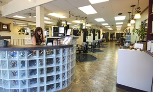 Visible Changes Salon and Day Spa: Haircut, Deep Conditioning, and Partial or Full Highlights at Visible Changes Salon and Day Spa (Up to 54% Off)