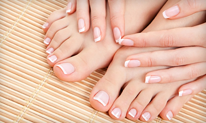 New York Nail Co. - Wilburtha: One or Two Mani-Pedis at New York Nail Co. in Yardley (Up to 61% Off)