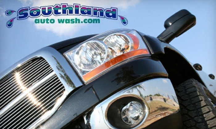 Southland Auto Wash - Multiple Locations: $25 for $50 Worth of Car Washes and Detailing Services at Southland Auto Wash