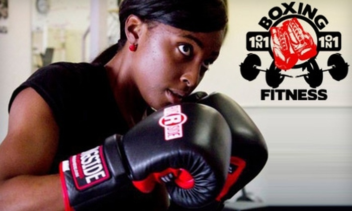 1on1 Boxing Fitness - Mesa: $29 for One Month of Unlimited Boxing Boot-Camp Sessions at 1on1 Boxing Fitness in Mesa