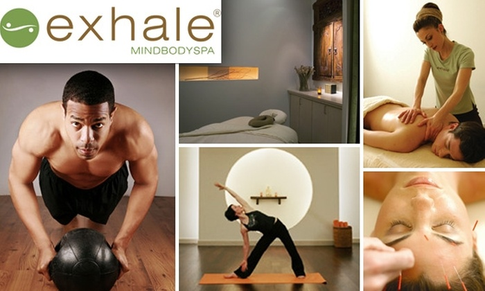 exhale Spa - Near North Side: Two Weeks Unlimited Core Fusion® & Yoga Classes