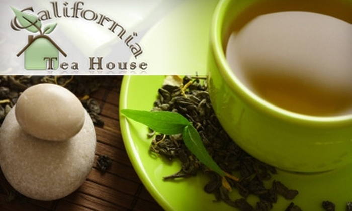 California Tea House: $15 for $32 Worth of Loose-Leaf Tea from California Tea House