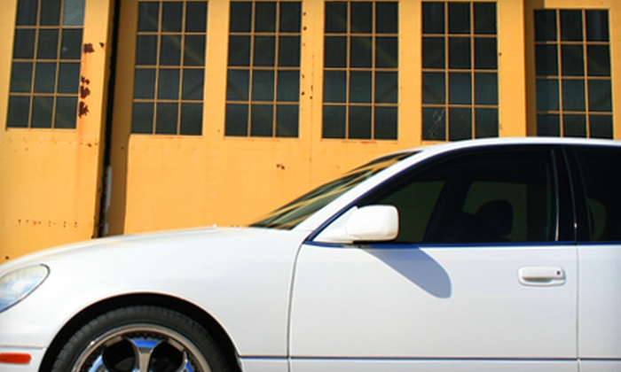 Tint Techs - McLane: $60 for $120 Toward Window Tinting for Auto, Residential, or Office Windows from Tint Techs
