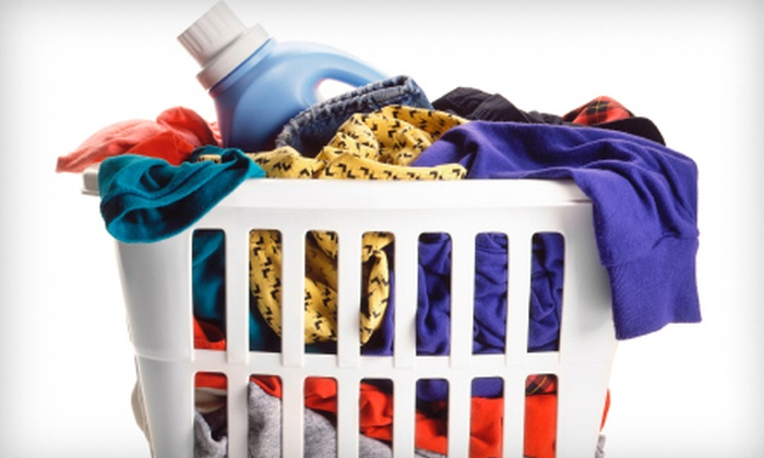 Jackline Soap & Suds - Deerfield: $10 for Drop-Off Laundry and Ironing Services for 10 Shirts at Jackline Soap & Suds ($20 Value)
