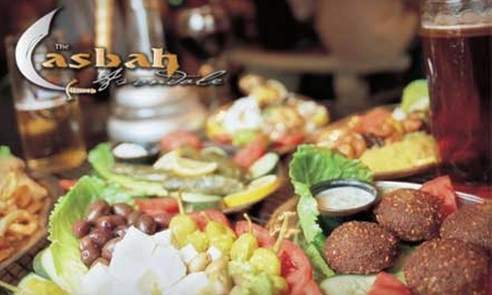 The Casbah Cafe - Murray Hill: $15 for $30 Worth of Traditional Middle Eastern Fare and Drinks at The Casbah Cafe