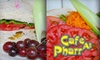 Cafe at Pharr - Multiple Locations: $10 for $20 Worth of Fresh Sandwiches, Salads, and More at Cafe at Pharr