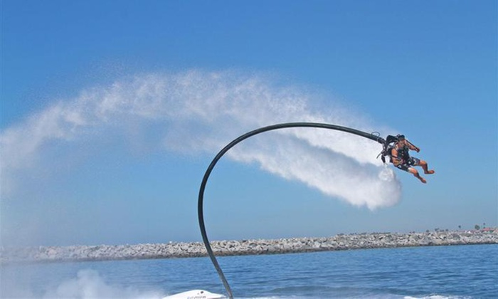 Jetpack America - Multiple Locations: Water Jetpack Lesson and 15- or 25-Minute Flight for One, Two, or Four from Jetpack America (Up to 53% Off)