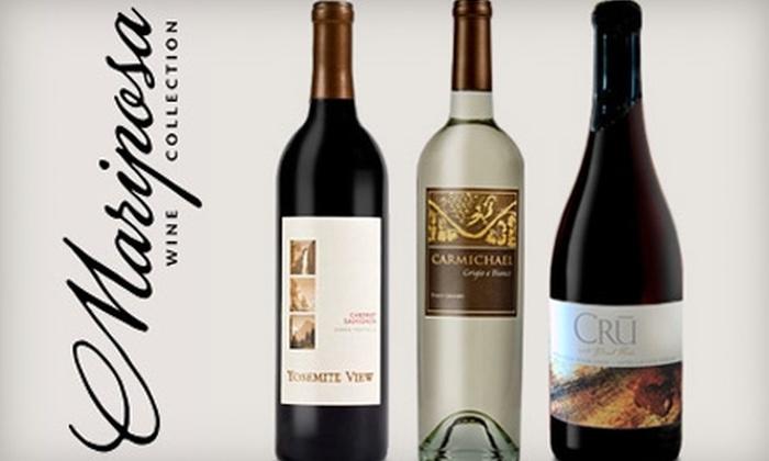 Mariposa Wine Company - Madera: $30 for $50 Worth of Wine Plus a Tasting for Two at Mariposa Wine Company in Madera ($60 Value)
