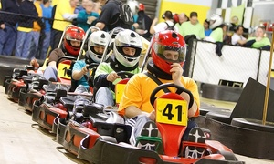 G-Force Karts: Two or Three Adult or Junior Go-Kart Races or Two Laser Tag Games at G-Force Karts (Up to 58% Off)