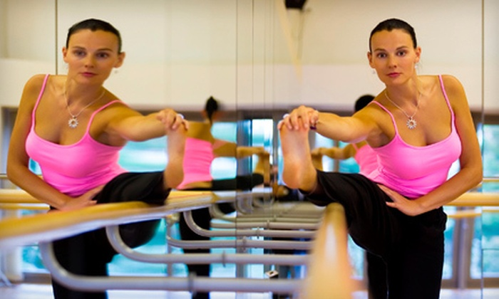 Club La Maison - Wayne: 4 or 8 BarreAmped Classes at Club La Maison in Wayne (Up to 79% Off)