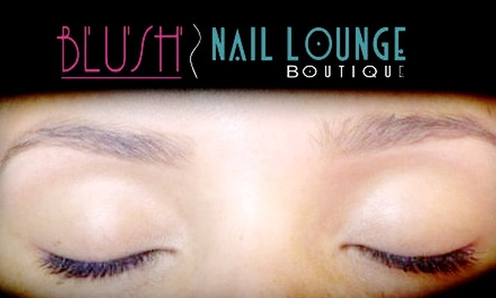 Blush Nail Lounge - Flamingo / Lummus: $15 for Brow and Lip Waxing or Threading at Blush Nail Lounge in Miami Beach (Up to $45 Value)
