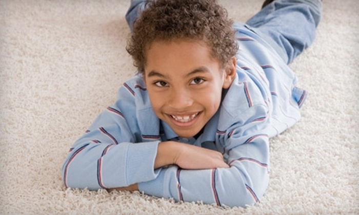 Prestige Dry Carpet Cleaning - Ventura County: $59 for a Two-Area Carpet Cleaning from Prestige Dry Carpet Cleaning ($119.99 Value)