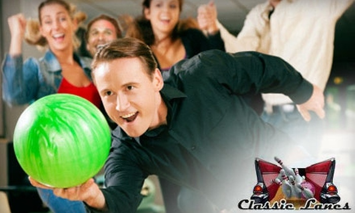 Classic Lanes Bowling Center - Briarfield: $6 for Two Games of Bowling at Classic Lanes Bowling Center in Newport News