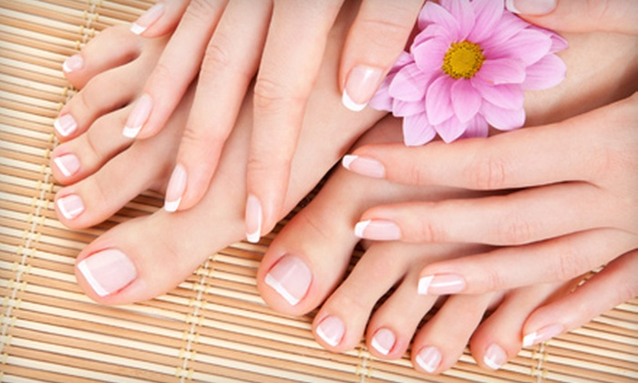 Fifth Ave Day Spa and Retreat - Eldridge/ West Oaks: Basic, Spa, or Deluxe VIP Mani-Pedi at Fifth Ave Day Spa and Retreat