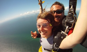 Skydive Australia: $199 (Plus $35 APF and Administration Levy) for a Tandem Skydive from Up to 14,000ft with Skydive Bribie Island