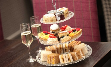 Afternoon Tea with Optional Glass of Wine for Two or Four at St James Hotel Nottingham