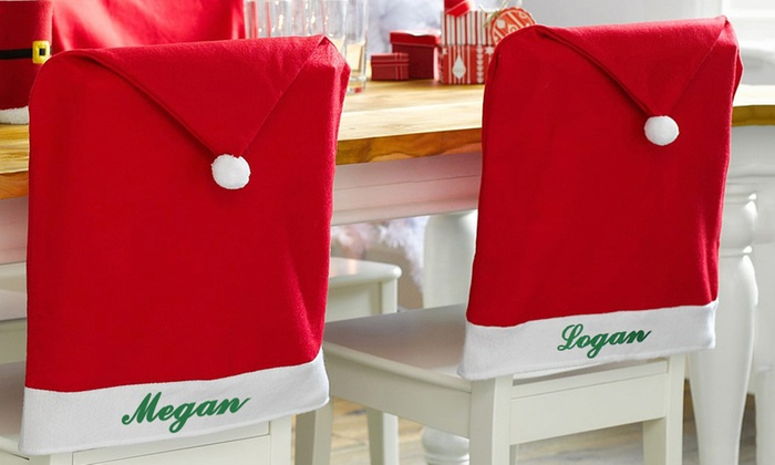 Custom Santa Chair Covers from Monogram Online : monogram chair - Cheerinfomania.Com