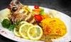 Aroma Mediterranean Restaurant - Central London: Lunch and Dinner Fare at Aroma Mediterranean Restaurant. Choose from Three Options.