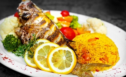 Aroma Mediterranean Restaurant: $30 Groupon for Lunch - Aroma Mediterranean Restaurant in London