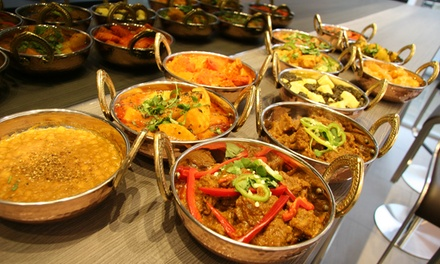 Two-Course Indian Meal with Side and Drink for Up to Four at Charlie Chapatti (Up to 64% Off)