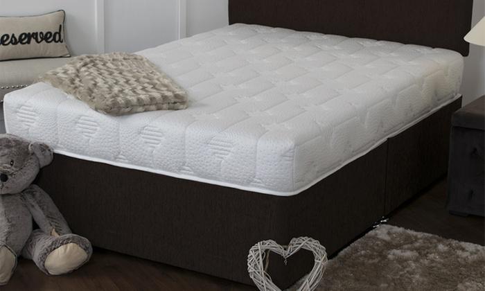 simpson cool blue memory sprung mattress