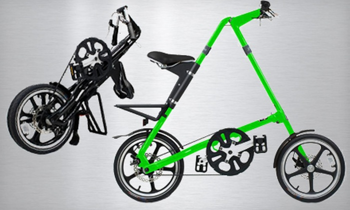 Strida Foldable Bike: $399 for a Strida LT Foldable Bike ($650 Value). Multiple Colors Available.