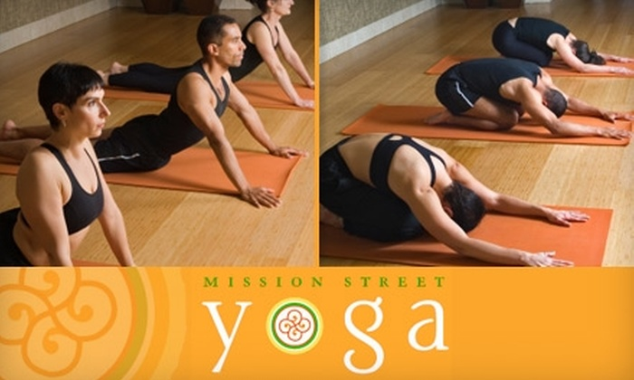 Mission Street Yoga - Los Angeles: $30 for Five Yoga Classes at Mission Street Yoga ($65 Value)