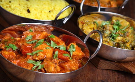 $20 Groupon to Taste of India - Taste of India in Franklin