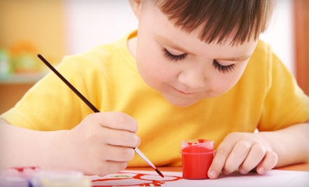 4 Mother-and-Toddler Art Classes (a $95 value) - Art Connects Art School in Mt. Pleasant