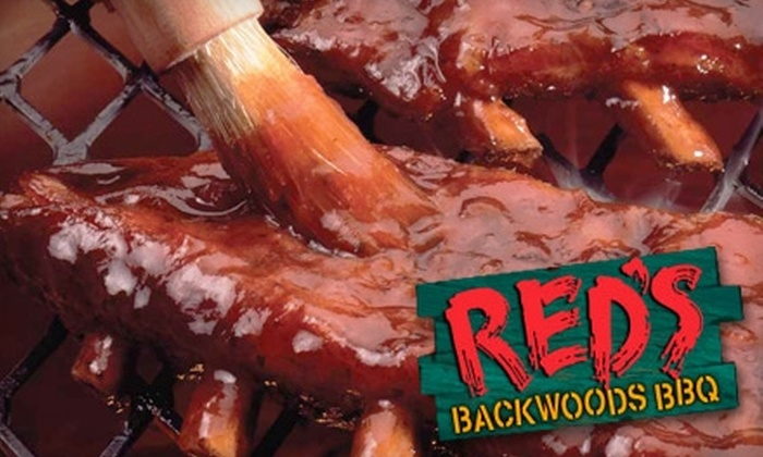 Red's Backwoods BBQ - Boca Raton: $10 for $20 Worth of Barbecue and Beverages at Red's Backwoods BBQ