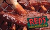 Red's Backwoods BBQ--Boca Raton - Boca Raton: $10 for $20 Worth of Barbecue and Beverages at Red's Backwoods BBQ