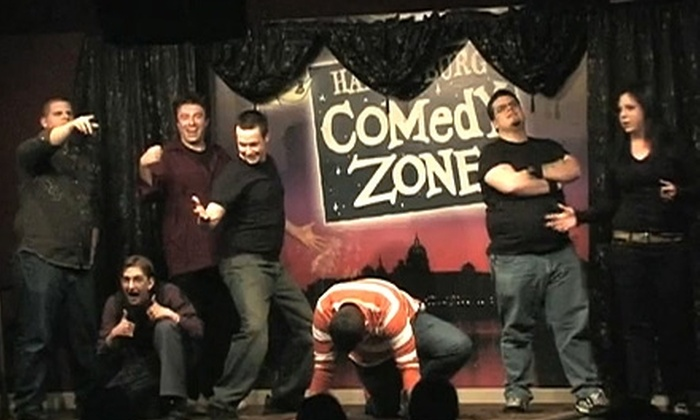Don't Break the Streak - Fairview: $5 for One Ticket to Don't Break the Streak's Improv Comedy Show at Harrisburg Comedy Zone ($10 Value). Three Dates Available.