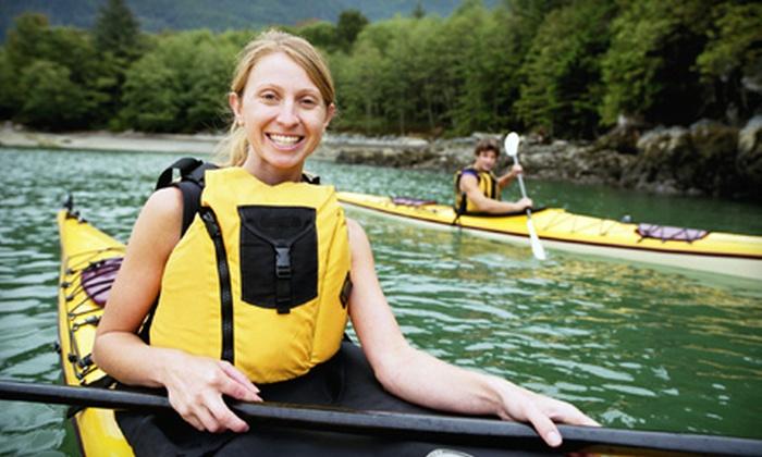 WildNative - Stockton: $113 for a Two-Day, One-Night Kayak Safari from WildNative in Stockton ($226.50 Value)