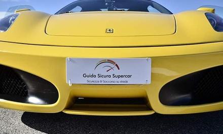 Corso di guida sicura su Ferrari con Guida Sicura Supercar (sconto fino a 64%). Valido in 2 sedi