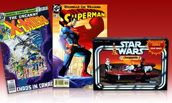 Heroes & Dragons - Northwest Columbia: Collectable and Previously Owned Toys, Comics, Games, and Books at Heroes & Dragons (Half Off). Two Options Available.