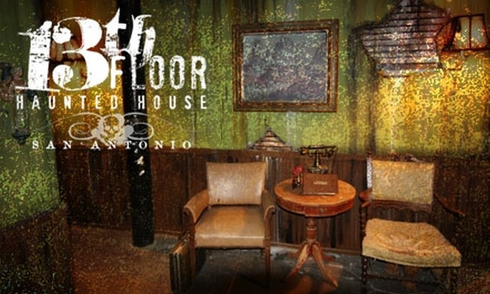 13th Floor Haunted House - Downtown: $15 for a VIP Fastpass Ticket to 13th Floor Haunted House