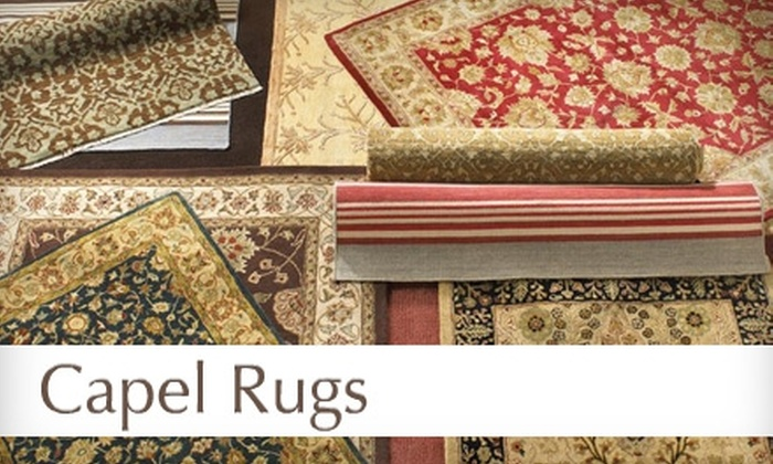 Capel Rugs - Three Chopt: $50 for $150 Worth of Rugs and More at Capel Rugs